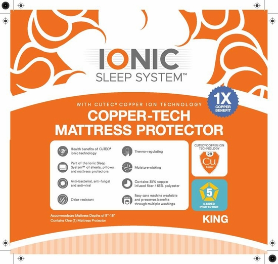 Copper Infused Mattress Protectors
