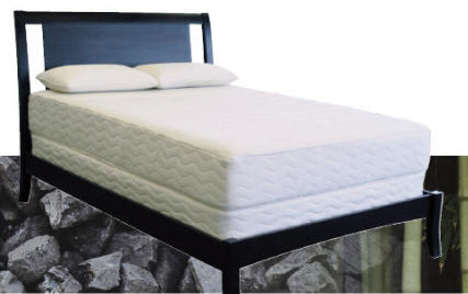 Twin or TwinXL Mattress Made with Certified Organic Latex