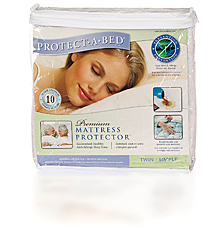 """Twin """"Premium"""" Protect-A-Bed Mattress Cover"""