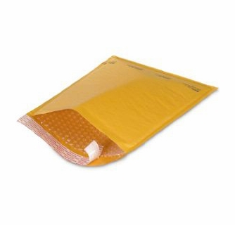 100 brown bubble shipping mailers envelopes 8 5 x 11 size 2