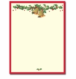 Antique Bells Christmas Holiday Printer Paper
