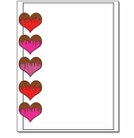 Chocolate Covered Hearts Laser & Inkjet Valentine's Day Printer Paper