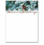 Holly and Berries Christmas Holiday Printer Paper