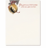 Holy Family Ornament Christmas Holiday Printer Paper