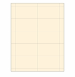 Ivory Business Card Paper Stock