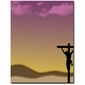 Jesus Crucifix Easter Laser & Inkjet Printer Paper