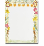 Luau Hawaiian Flowers Summer Laser & Inkjet Printer Paper