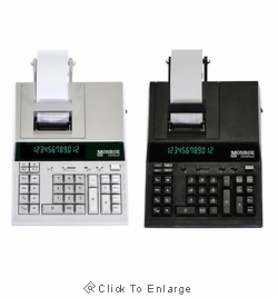 Monroe 2020PlusX 12-Digit Medium Duty Desktop Printing Calculator