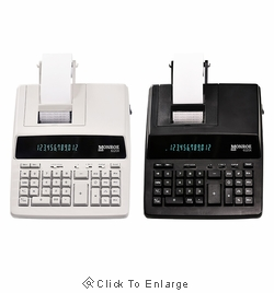 Monroe 6120X 12-Digit Medium Duty Desktop Printing Calculator