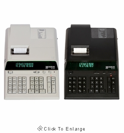 Monroe 8130X 12-Digit Heavy Duty Desktop Printing Calculator