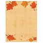 Falling Leaves Autumn Border Paper