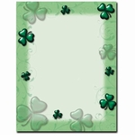 Shamrock & Swirls St. Patrick's Day Printer Paper