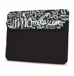 "Sumo 8.9"" Graffiti Tablet, iPad, Ultrabook & Laptop Sleeve - Black"