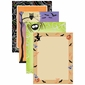 Whimsical Halloween Border Paper 100 Sheet Variety Pack
