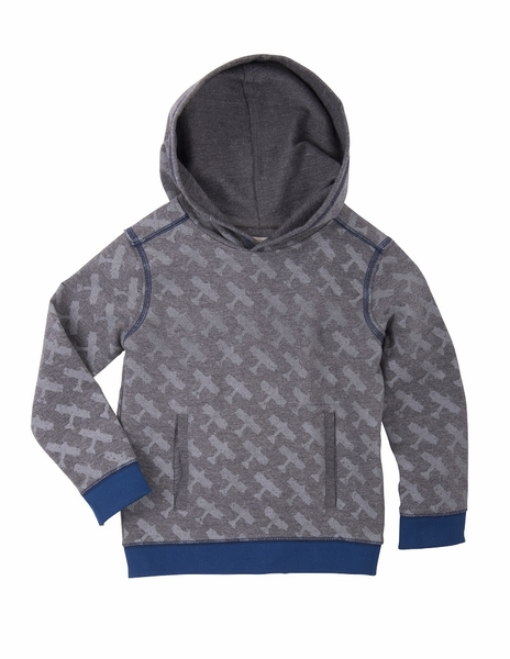 Hatley | Patterned Airplane Pullover