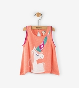 Hatley | Peach Unicorn Mini Tank