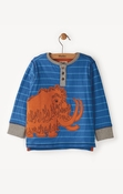Hatley | Woolly Mammoth Long Sleeve Henley