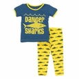Kickee Pants | Pajama's: Lemon Shark