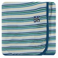 Kickee Pants | Swaddle - Boy Perth Stripe