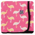 Kickee Pants | Swaddle - Flamingo Emu