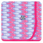 Kickee Pants | Swaddle: Forget Me Not Piranha