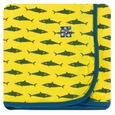 Kickee Pants | Swaddle: Lemon Shark
