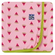 Kickee Pants | Swaddle: Lotus Watermelon