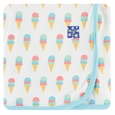 Kickee Pants | Swaddle: Natural Ice Cream