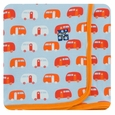 Kickee Pants | Swaddle: Pond Camper