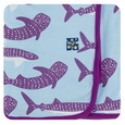 Kickee Pants | Swaddle - Pond Whale Shark
