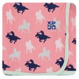 Kickee Pants | Swaddle: Strawberry Cowgirl