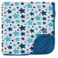 Kickee Pants | Toddler Blanket: Confetti Star