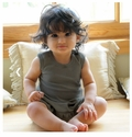 L'ovedbaby | Baby Doll Dress: Gray