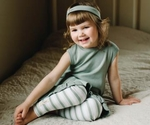 L'ovedbaby | Baby Doll Dress: Seafoam