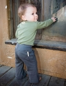 L'ovedbaby | Lounge Pants: Gray