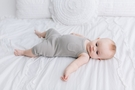 L'ovedbaby | Thermal Romper: Light Gray