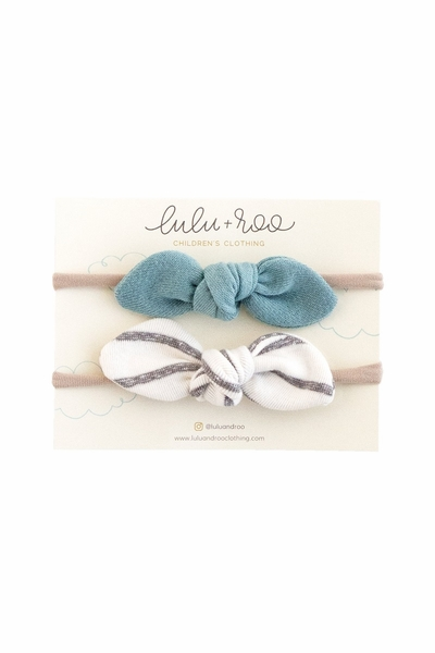 Lulu + Roo | Aruba and Coastal Stripe Headband Set