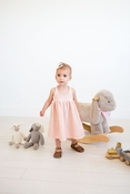 Lulu + Roo | Infant Dress: Blush Sparkle