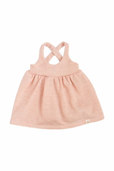 Lulu + Roo | Toddler Dress: Blush Sparkle