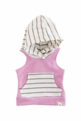 Lulu + Roo | Toddler Flamingo & Coastal Stripe Hoodie