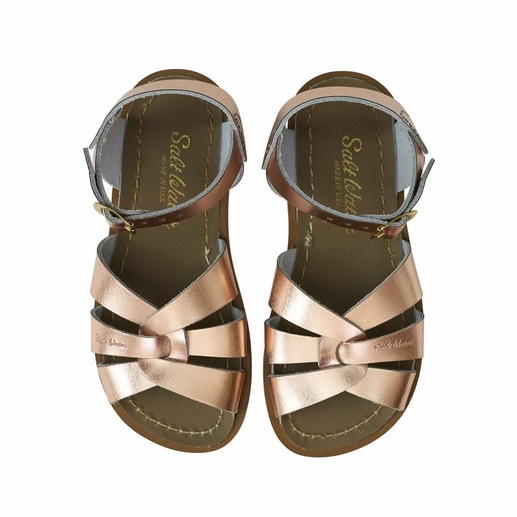 Saltwater Sandals | Rose Gold