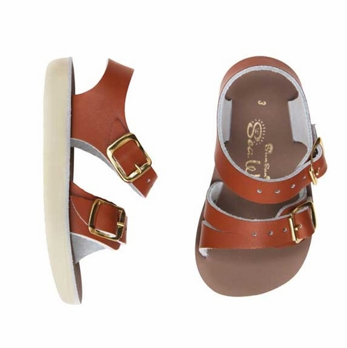 Saltwater Sandals | Tan Sea Wees