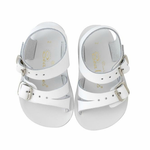 Saltwater Sandals | White Sea Wees