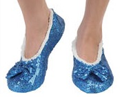 Snoozies: Women's - Blue Bling