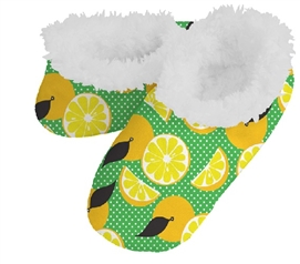 Snoozies: Women's - Lemons