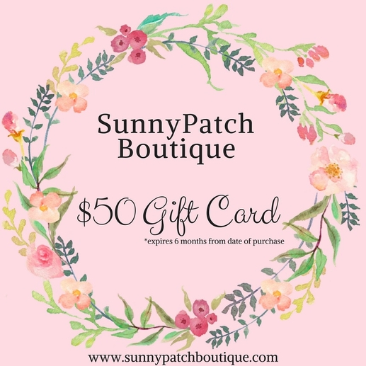 SunnyPatch Gift Card - $50