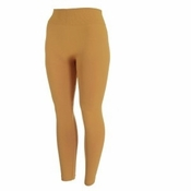 Women's Fleece-Lined Leggings | Mustard