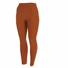 Women's Fleece-Lined Leggings | Rust