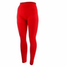 Women's Plus Size Fleece-Lined Leggings | Red