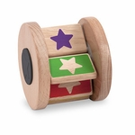Wooden Toys | First Play Color Star Tumbler